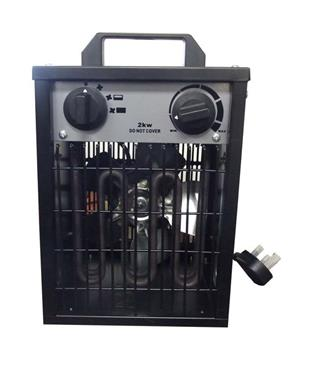 10684 Portable Heater with Electric fan 2Kw - 10 Amp